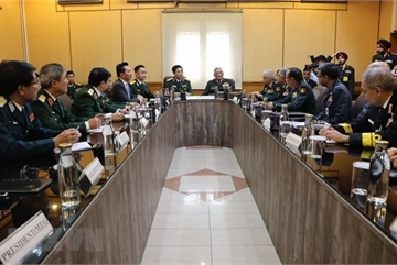 Vietnamese, Indian militaries enjoy fruitful cooperation: officials