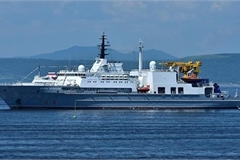 Russian search and rescue support vessel visits Vietnam