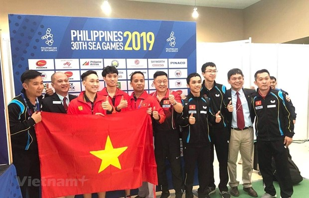 SEA Games 30: Historical table tennis gold medal for Vietnam hinh anh 1