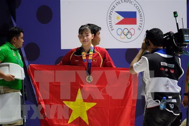 Vietnam retains third place on SEA Games 30 medal tally hinh anh 1