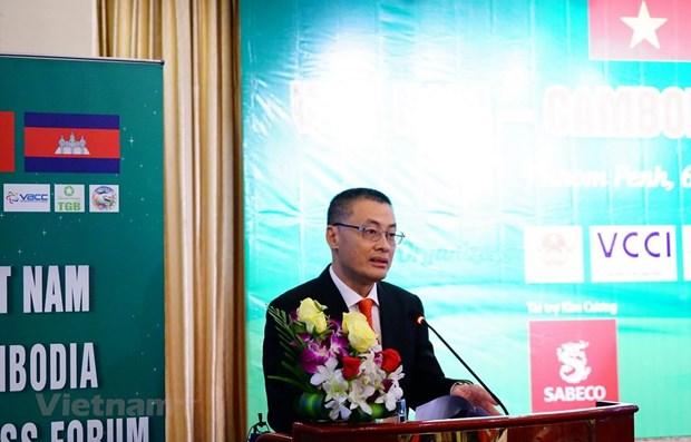 Vietnam – Cambodia business cooperation forum to boost trade hinh anh 1