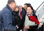 NA Chairwoman arrives in Kazan, begining Russia visit