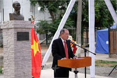 Ho Chi Minh Park upgraded in Chile