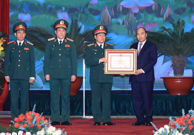 Grand ceremony marks 75th anniversary of Vietnam People's Army hinh anh 1