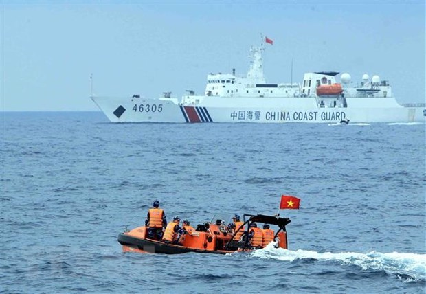 Vietnam, China hold negotiations on sea-related issues hinh anh 1