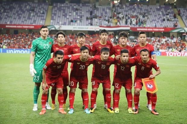 Vietnam men's team recognised in FIFA list hinh anh 1