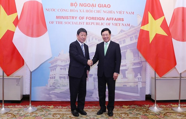 Vietnam, Japan agree to further enhance political trust hinh anh 1
