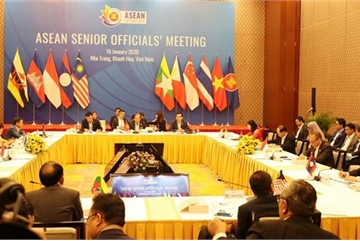 ASEAN senior officials meet to prepare for AMM Retreat