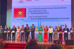 Vietnam bags more tourism awards at ASEAN Tourism Forum