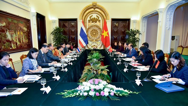 Vietnam, Thailand hold 7th political consultation in Hanoi hinh anh 1
