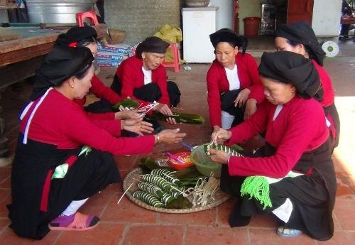 Tet of the San Diu ethnic minority group hinh anh 1