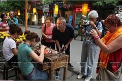 Hang Bac street - birthplace of Hanoi's silver jewellery