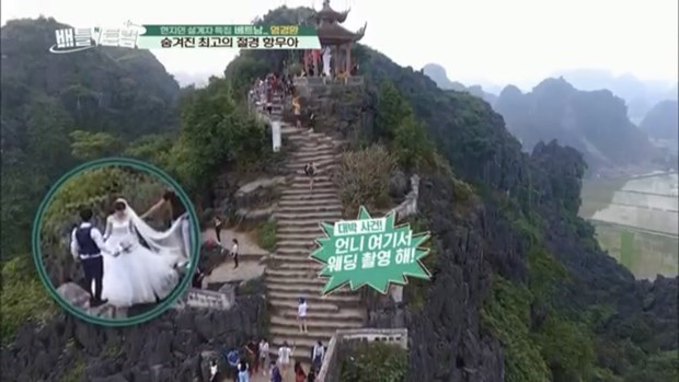 Two Vietnamese landscapes aired on Korean television hinh anh 4