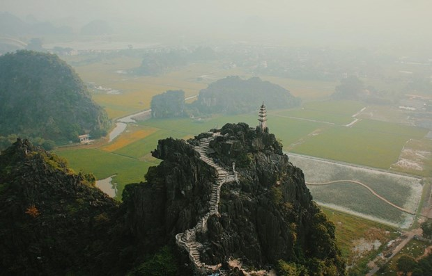 Two Vietnamese landscapes aired on Korean television hinh anh 1