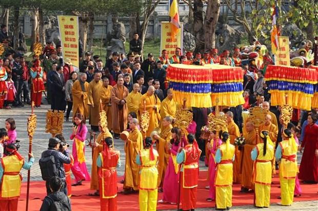 Bai Dinh Pagoda Festival opens in Ninh Binh hinh anh 1