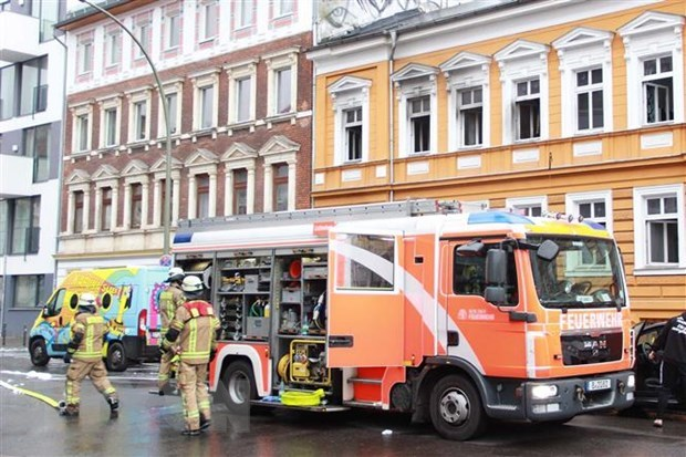 Vietnamese-owned house in Germany catches fire hinh anh 1