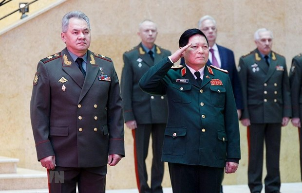 Defence cooperation – pillar of Vietnam-Russia relations hinh anh 1
