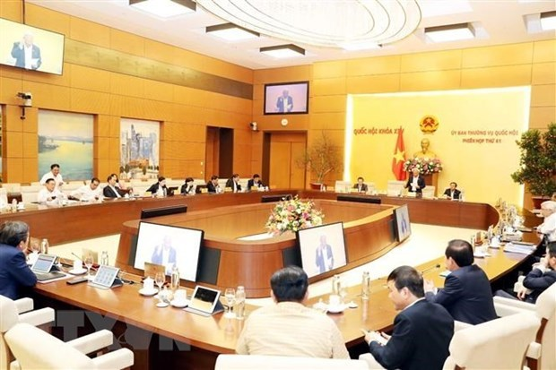 NA Standing Committee's 42nd session to open next week hinh anh 1