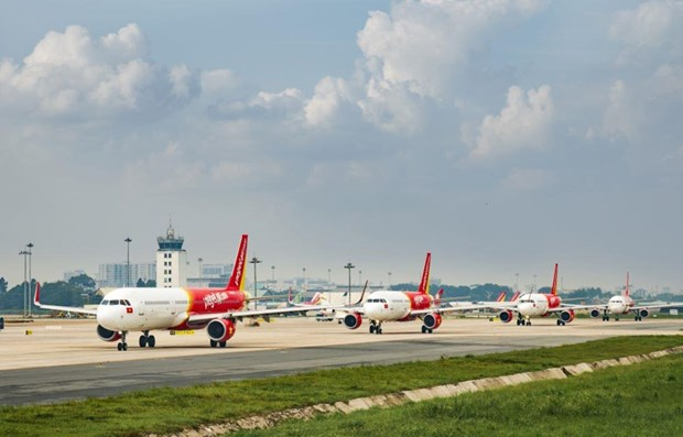 Vietjet Air to open three direct routes to India hinh anh 1