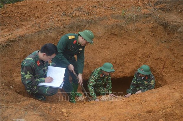 340kg bomb deactivated in Yen Bai hinh anh 1