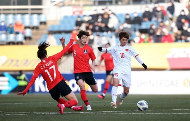 Women's team lose to RoK in Olympics qualifiers hinh anh 1
