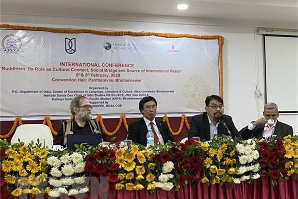 Vietnam attends international Buddhism conference in India