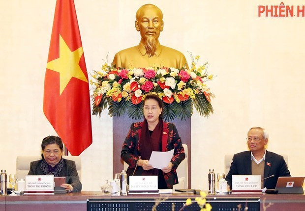 National Assembly Standing Committee concludes 42nd session hinh anh 1