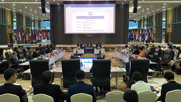 Vietnam chairs meeting of ambassadors from EAS countries hinh anh 1