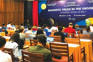 "Binh Dinh hosts ""Magnetic Fields in the Universe"" conference"