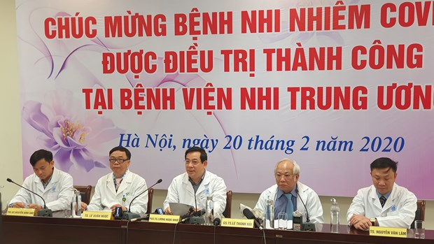 Three-month-old coronavirus patient successfully treated hinh anh 1