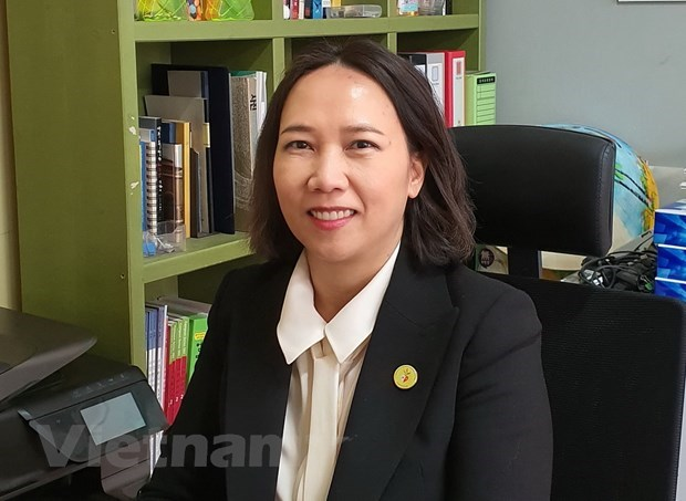 First Vietnamese-born woman runs for RoK's legislative elections hinh anh 1