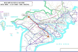 Two new expressways to be built in Mekong Delta