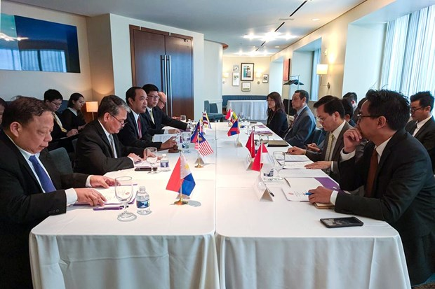 Washington meeting discusses ASEAN-US Special Summit preparation hinh anh 1