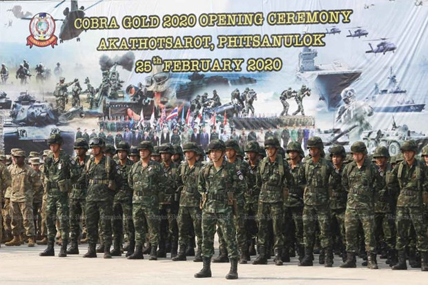 Cobra Gold military exercise kicks off amidst coronavirus concerns hinh anh 1