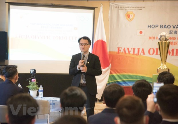 Biggest-ever football championship for Vietnamese launched in Japan hinh anh 1