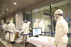 Airports designated to serve flights from RoK's epidemic-hit areas