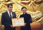 Azerbaijanese ambassador honoured for fostering ties