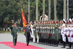 Top officer of Japan's Self-Defence Forces visits Vietnam