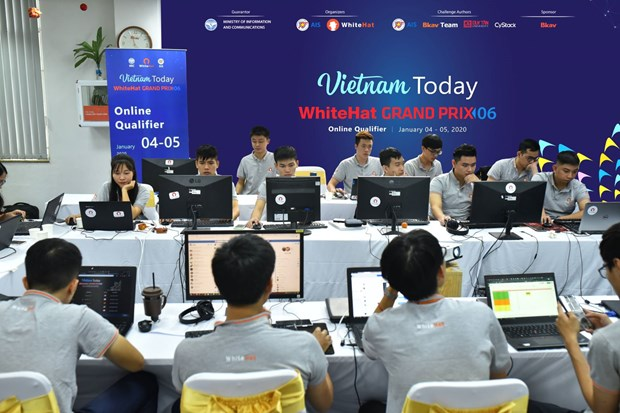 COVID-19 postpones int'l cyberspace safety contest finals hinh anh 1