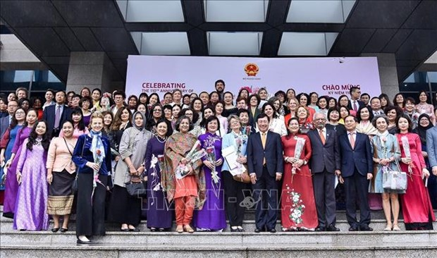 Female diplomats meet ahead of International Women Day