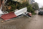 Whirlwinds, hailstorms cause serious damage to northern Vietnam