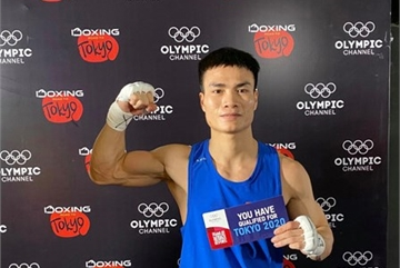Vietnamese boxer secures Tokyo Olympics berth