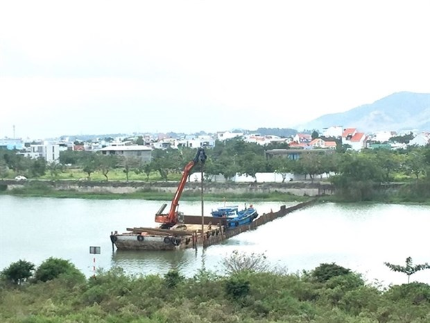 Da Nang: Dams built to deal with lack of fresh water hinh anh 1