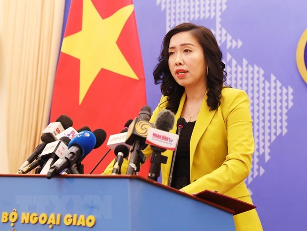 "Vietnam rejects China's so-called ""nine-dash line"" in East Sea hinh anh 1"