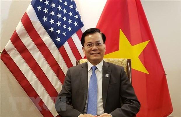 US has no plan to suspend import of Vietnamese garment-textiles: ambassador hinh anh 1