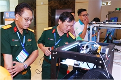 HCM City develops 3D-printed robot to disinfect rooms