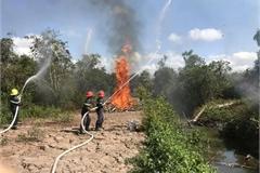 Hau Giang raises fire danger level to the highest
