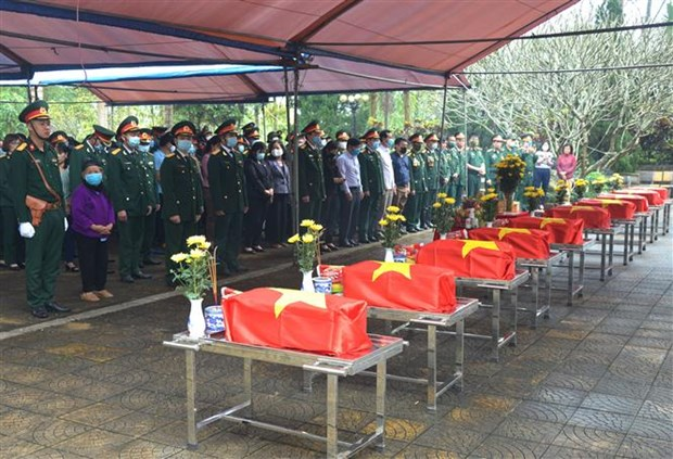 Memorial service for martyrs held in Ha Giang hinh anh 1