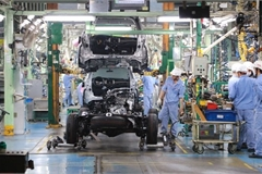 Toyota Motor Vietnam suspends vehicle production