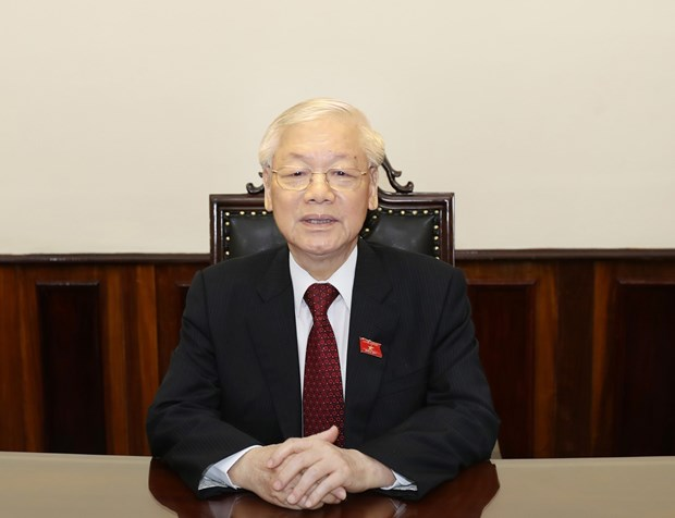 Top leader calls for solidarity against COVID-19 hinh anh 1